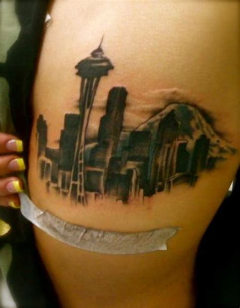 seattle skyline tattoo designs best 25 seattle ideas on washington