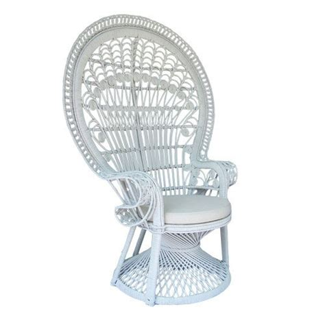 white peacock chair hire white peacock chair and white rattan table