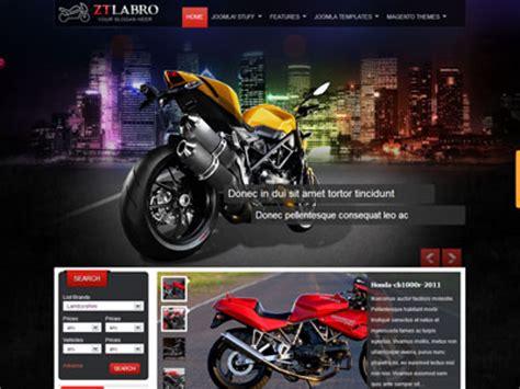 wordpress themes free motorcycle zt labro joomla template for auto motorbike motorcycle