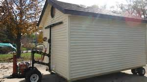 moving a shed storage shed moving equipment info nolaya