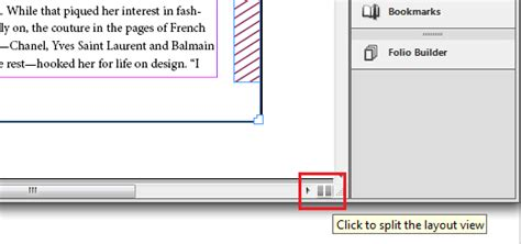 html layout split new features in indesign cs6