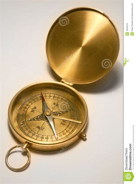 the brass compass antique brass compass royalty free stock photo image