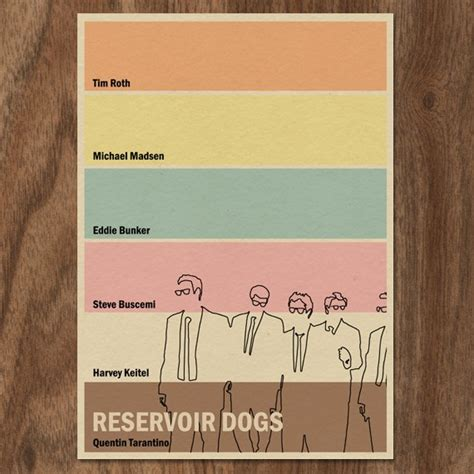 reservoir dogs script reservoir dogs 16x12 poster by monstergallery on etsy