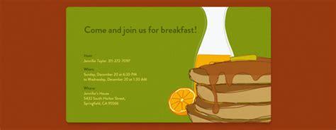 Free Breakfast Invitations Just B Cause Free Breakfast At S Invitation Template