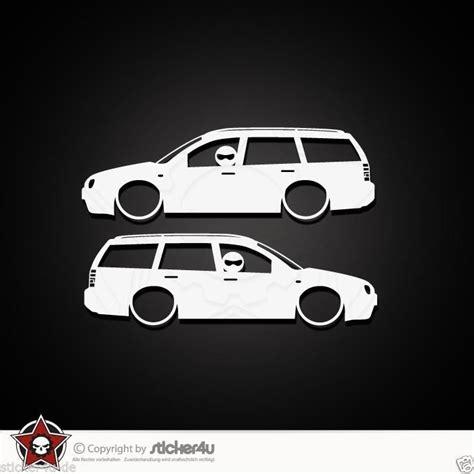 Vw Bora Aufkleber by 830 2x Low And Slow Vw Golf 4 Variant Sticker Aufkleber