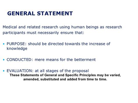 to what extent do moral statements objective meaning ethical guidelines for biomedical research on human