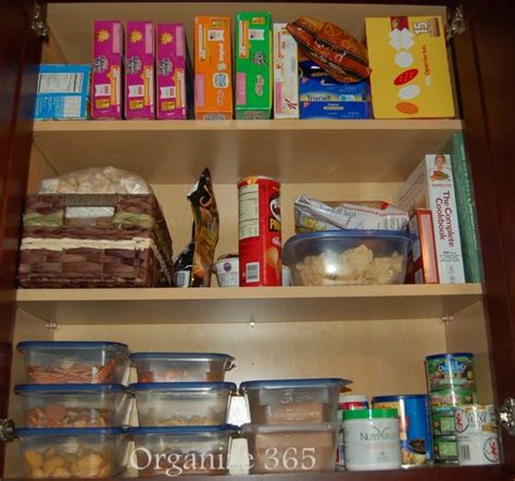 How To Organize Food In Kitchen Cabinets Organizing Kitchen Cabinets Organize 365