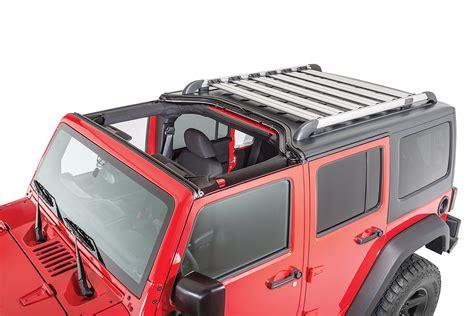 Jeep Jk Roof Racks Teraflex Nebo Roof Rack For 07 17 Jeep 174 Wrangler Unlimited