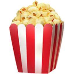 popcorn emoji uff