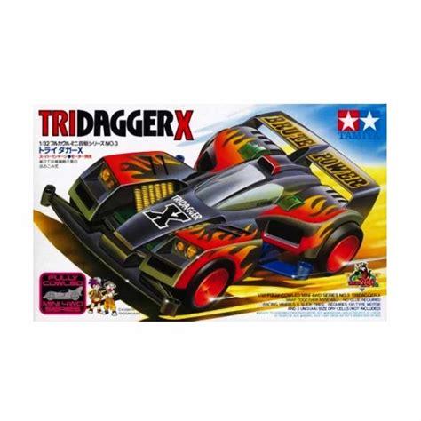 Tamiya 4 Wd jual tamiya mini 4wd tridagger x model kit harga