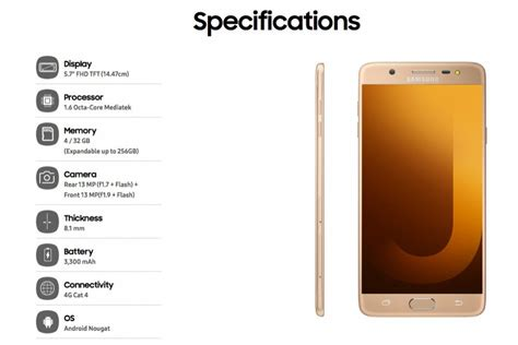 Samsung J7 Max samsung galaxy j7 pro e galaxy j7 max arrivano i social