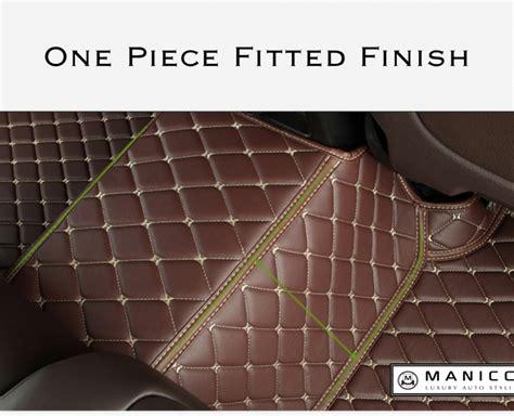 Custom Walk Mats by Manicci Luxury Custom Fitted Car Mats Brown