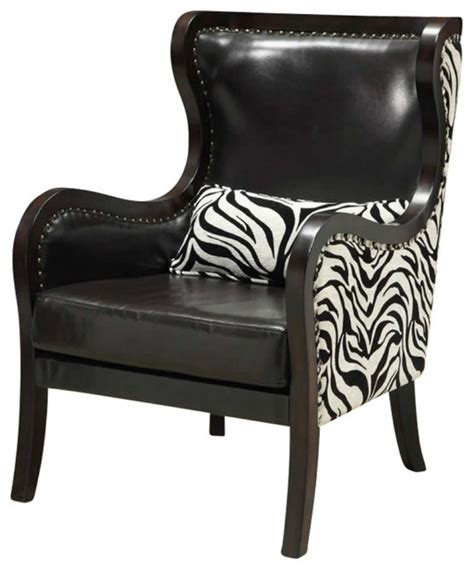 Black And White Accent Chair Beautiful Zebra Accent Chair Pictures Dawndalto Decor
