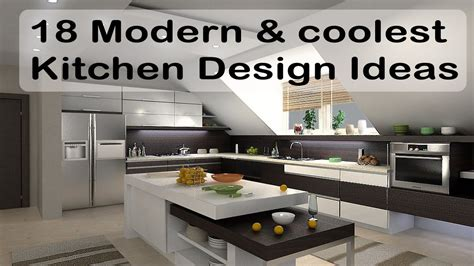 modern kitchen island design ideas 18 modern and coolest kitchen design ideas kitchen island