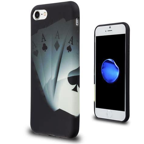 apple iphone   silicone gel design case flexible