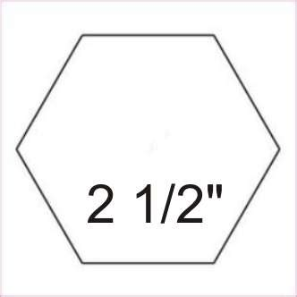 4 inch hexagon template 8 inch hexagon template clipart best