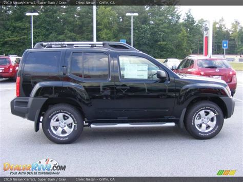 nissan xterra black 2010 nissan xterra s black gray photo 5