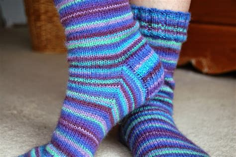 pattern knitting socks winwick mum basic 4ply sock pattern and tutorial easy