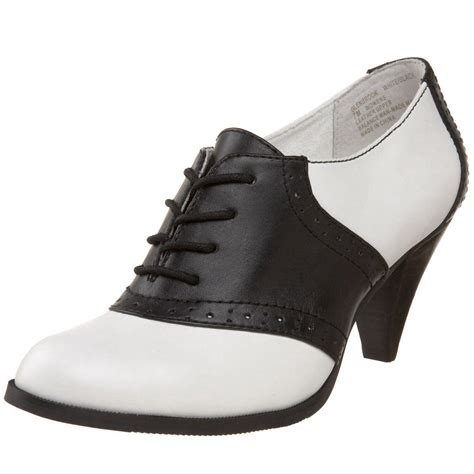 oxford black and white shoes black and white heel oxfords s best friend