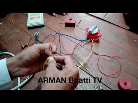 washing machine timer switch connections  wire timer connections  urdu hindi youtube