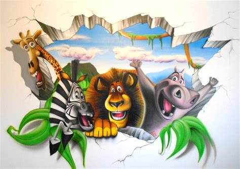 Sprei Madagascar graff madagascar spraydechezvous 171 spray de chez vous