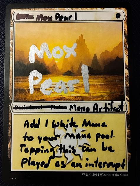 mtg proxy card template proxy card