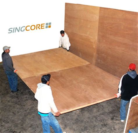 sing panels insulated torsion box honeycomb panels