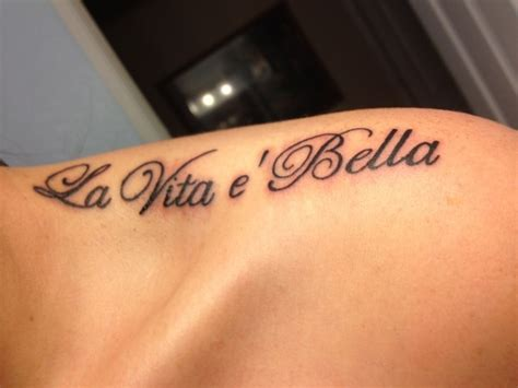 life is beautiful tattoo best 25 italian quote tattoos ideas on