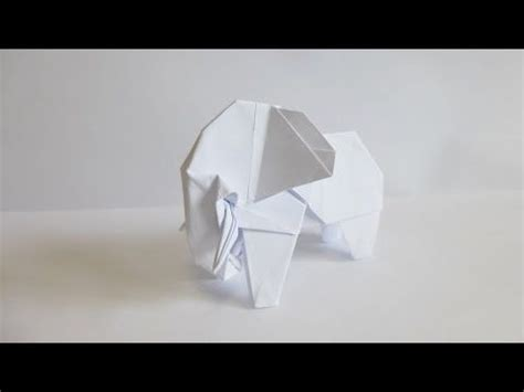 Copy Paper Origami - best 25 origami elephant ideas on origami