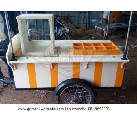 Tiang Rem Cnc Panjang 50cm gerobak sepeda kuliner gerobak sepeda custom bandung