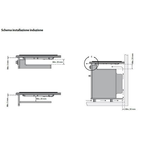 piani cottura ilve ilve piano cottura v395n in vetroceramica da 90cm