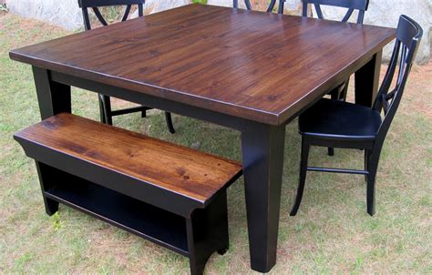 60 inch square table country dining table kate