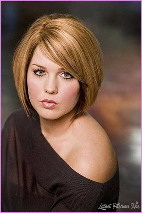 fat face hairstses for women over 45 short haircut for fat faces latestfashiontips com