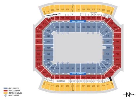 seating section seating charts cing world stadium