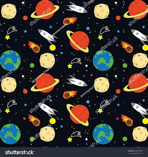 xml pattern space seamless space pattern stock vector 360259937 shutterstock