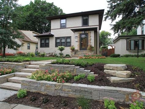 front yard retaining wall front yards yards and retaining walls on