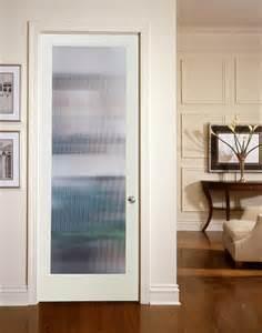 Narrow reed decorative glass interior door living room