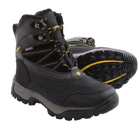 hi tec snow boots mens hi tec snow peak 200 snow boots for save 76