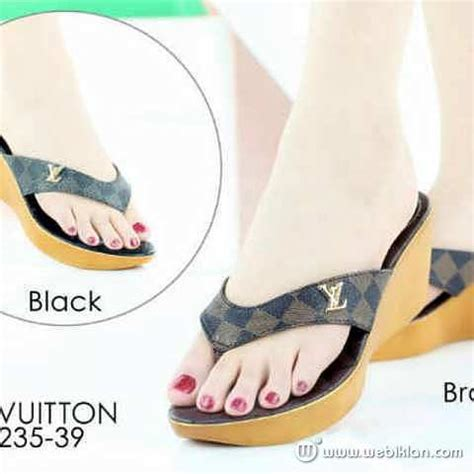 Harga Wedges Gucci sandal wedges japit lv gucci import web iklan