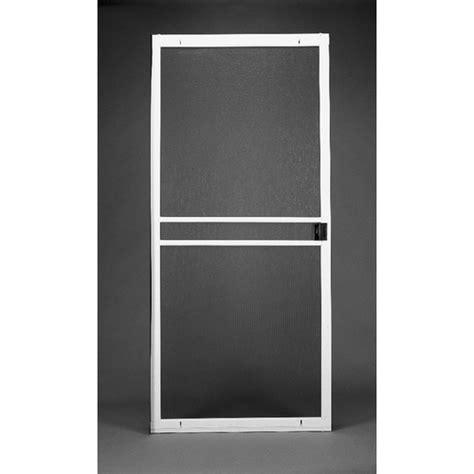 lowes screen doors by pella ritescreen comfort bilt