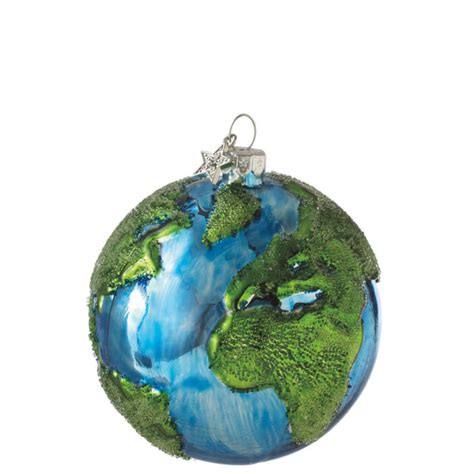 glass earth ball christmas ornament midwest cbk