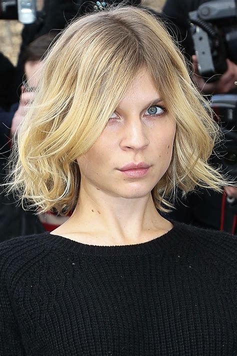 will i suit a lob hairstyle if i have curly hair short cut inspiration clemence poesy hair romance