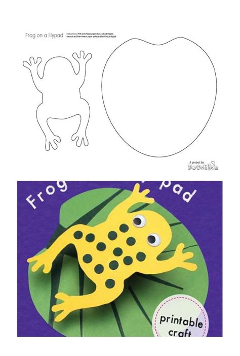 frog pop up card template 25 best ideas about frog template on frog