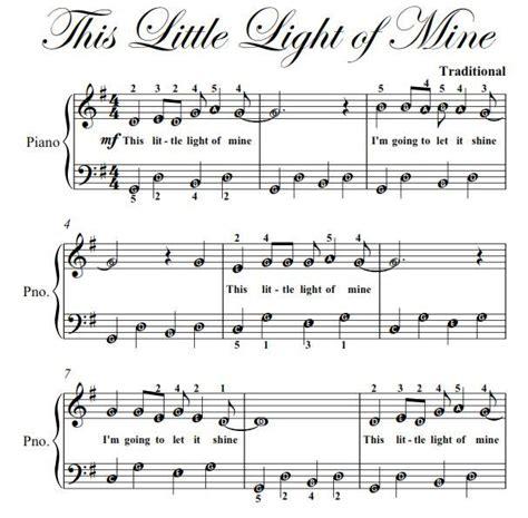 this little light of mine sheet music free download this little light of mine easy piano sheet music pdf ad
