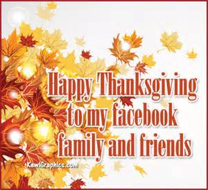 happy thanksgiving family and friends graphic forum social media graphic