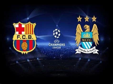 barcelona vs manchester city pes 2014 uefa chions league fc barcelona vs