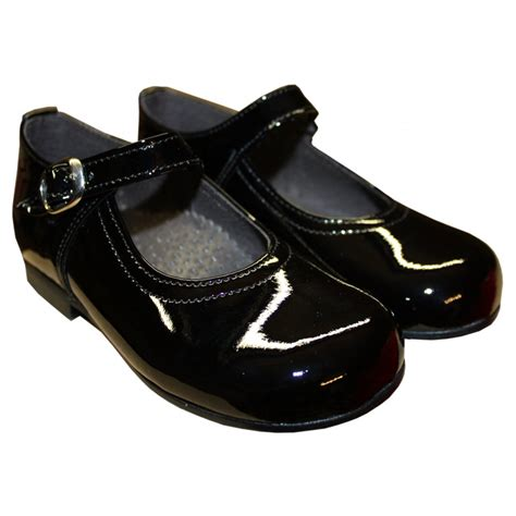 black shoes panyno black patent leather shoes