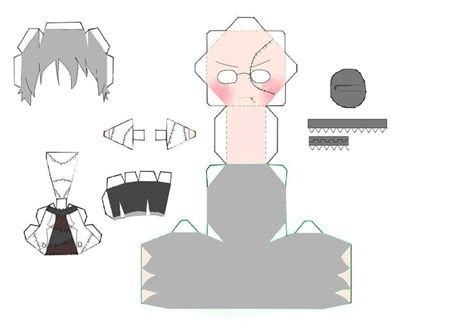 Soul Eater Papercraft - soul eater dr stein papercraft by 6turtles on deviantart