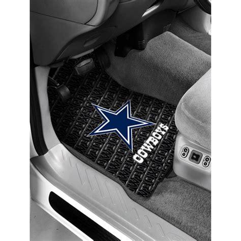 Cowboys Floor Mats by Nfl Dallas Cowboys Floor Mats Set Of 2 Walmart