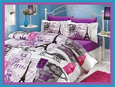 Paris Comforter Set Eiffel Tower Twin Size 8 Piece Eiffel Tower Bedding Set